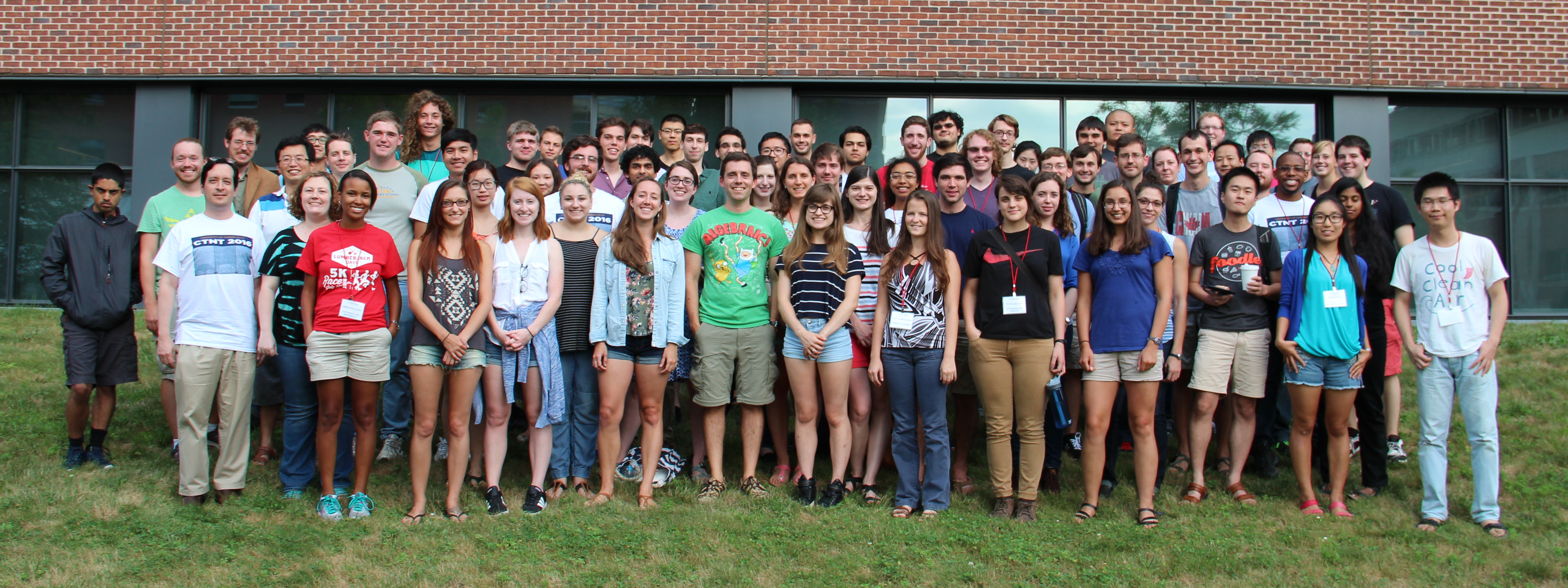CTNT 2016 Summer School group photo